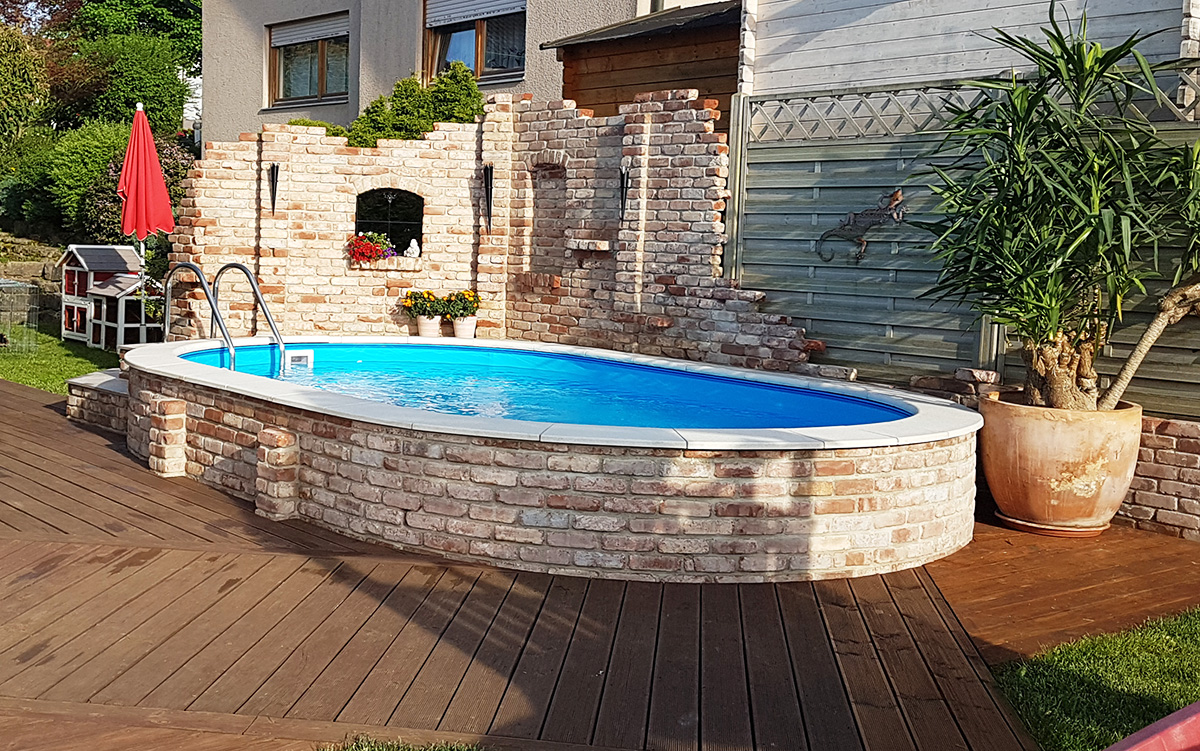 bauen sie ihren pool selbst wir helfen ihnen dabei. Black Bedroom Furniture Sets. Home Design Ideas
