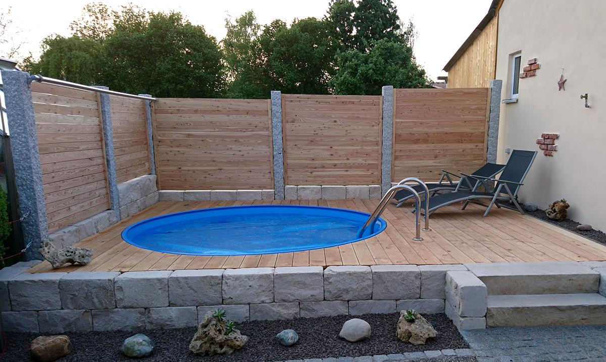 Bauen sie ihren pool selbst wir helfen ihnen dabei - Pool rutsche selber bauen ...