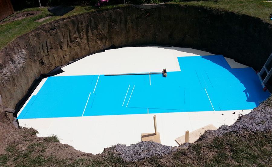 Conzero poolsystem ohne beton for Aufstellpool verkleiden
