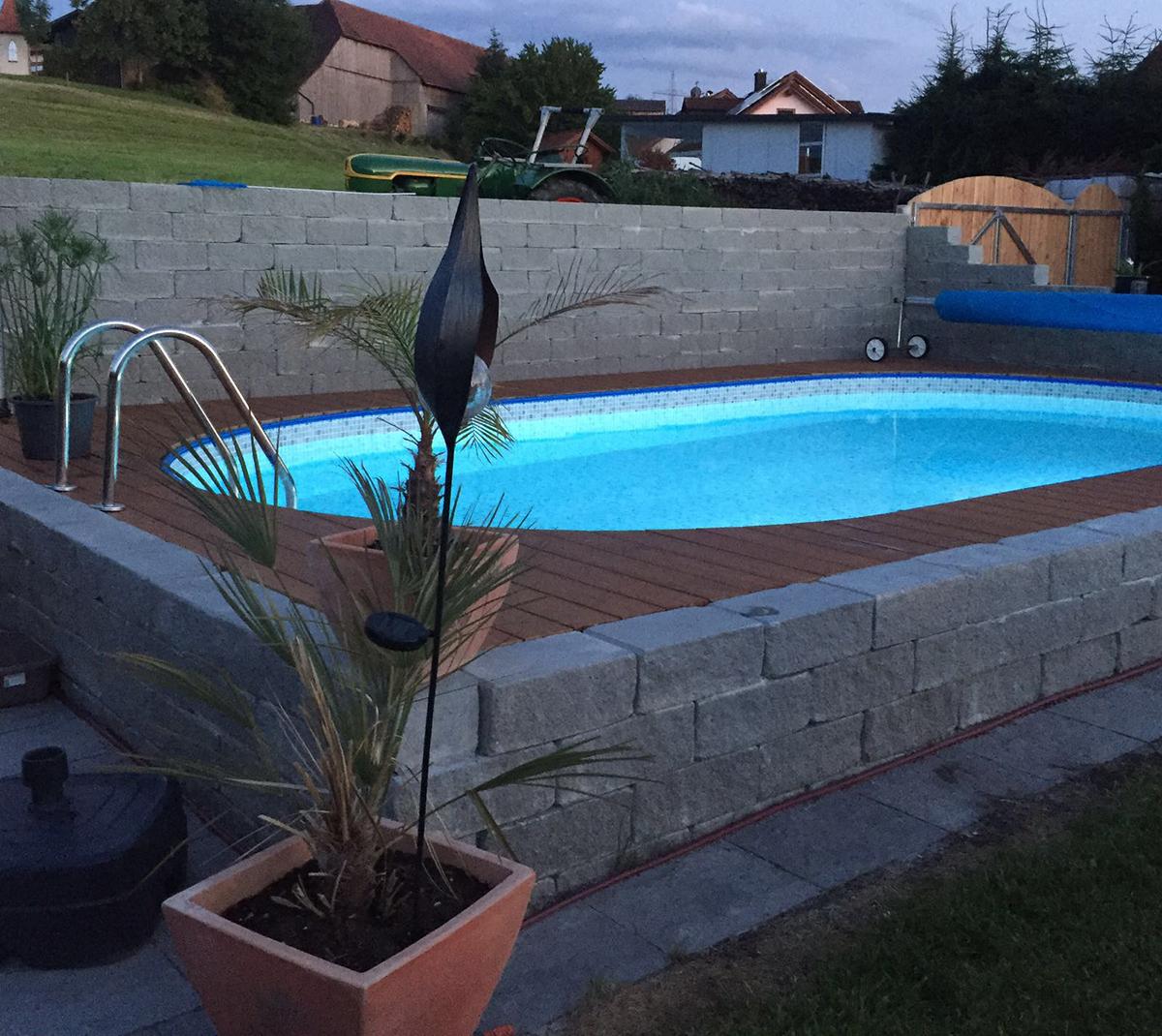 Bauen sie ihren pool selbst wir helfen for Schwimmpool selber bauen