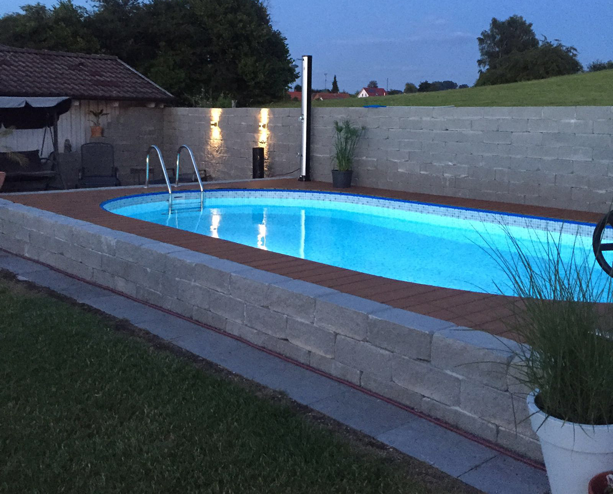Bauen sie ihren pool selbst wir helfen for Gartenpool 3m
