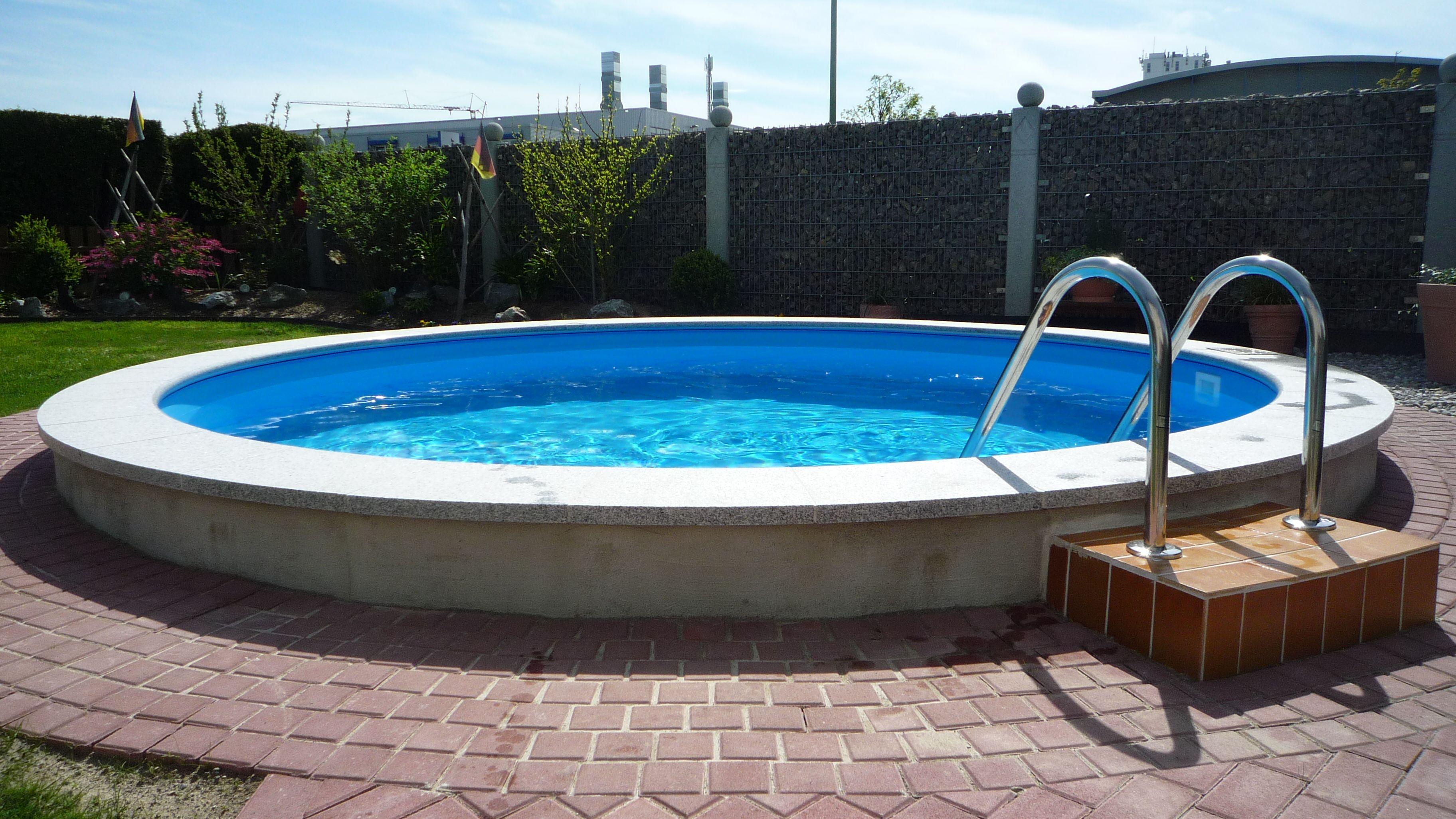 Bauen sie ihren pool selbst wir helfen for Pool rund teileinbau