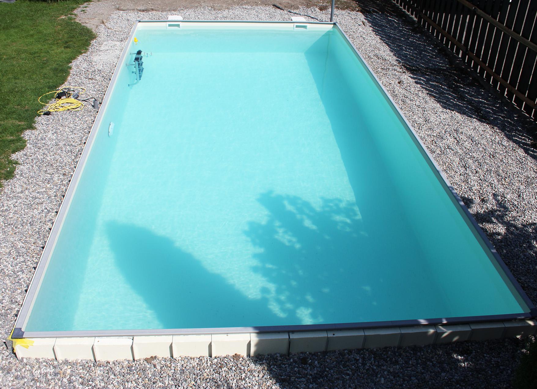 Bauen sie ihren pool selbst wir helfen for Garten pool komplett set