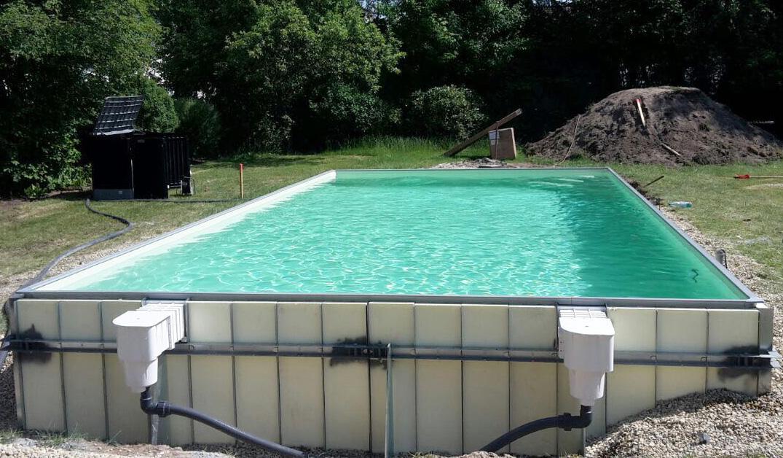 Bauen sie ihren pool selbst wir helfen for Pool mit folie auskleiden