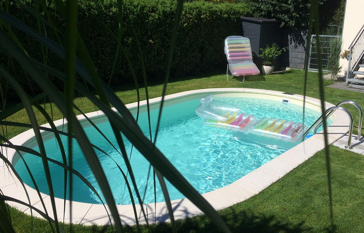 Best holzumrandung pool selber bauen gallery for Selbst aufstellbarer pool