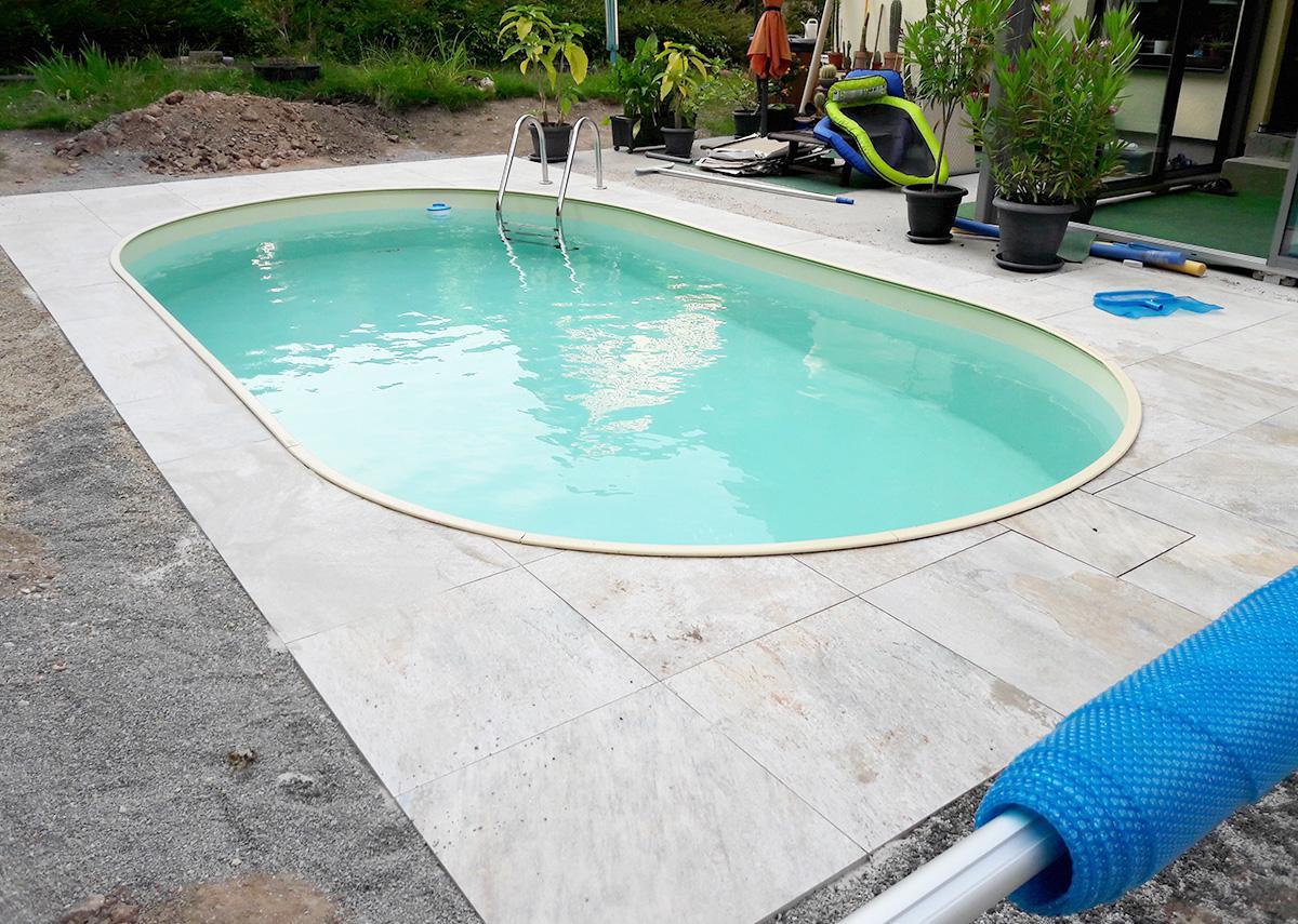 Emejing pool fur garten oval pictures house design ideas for Bauhaus bestway pool