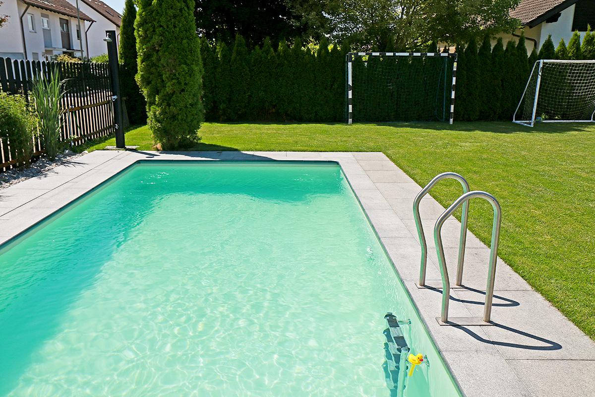 Pool rund 4 m excellent gfk pool gfk pool rund with pool for Folienfarbe pool